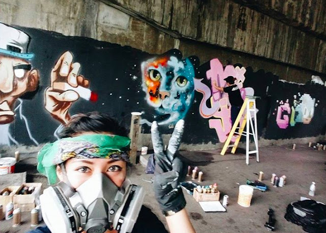 Artistic Minds - Amy Amin (Graffiti) _ ORKED MAG