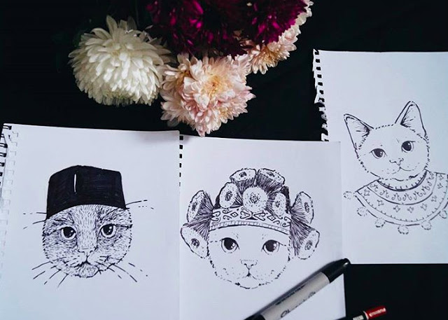 Artistic Minds - Amy Amin (Meow) _ ORKED MAG