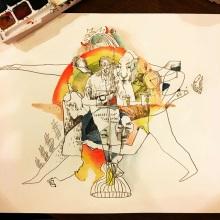 Starbang Art by OtakZuber